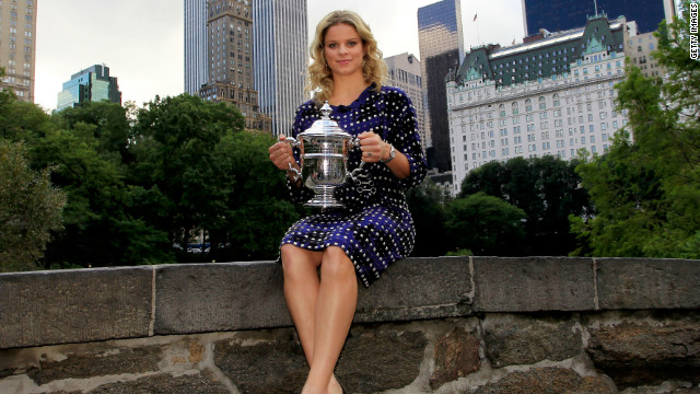 Clijsters defended her Flushing Meadows crown in 2010, avenging her defeat by Russia's Zvonareva in the quarterfinals at Wimbledon -- a loss she told CNN &quot;hurt her the most.&quot;