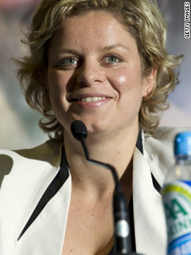Clijsters put on a series of farewell matches in her homeland to say thank you and goodbye to her hoards of Belgian fans.