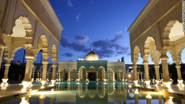 Palais Namaskar will spoil visitors with a half million square feet of manicured Balinese-inspired gardens, waterfalls and lakes.