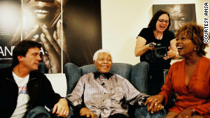 Actress lives life inspired by Mandela