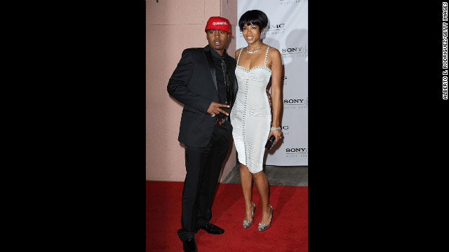 "Nas and Kelis arrive at the 2008 Grammy Awards after party at the Beverly Hilton Hotel. The following year, Kelis filed for divorce from the rapper citing ""irreconcilable differences."" She was seven months pregnant."