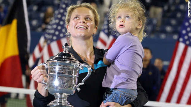 Kim Clijsters\' glittering career