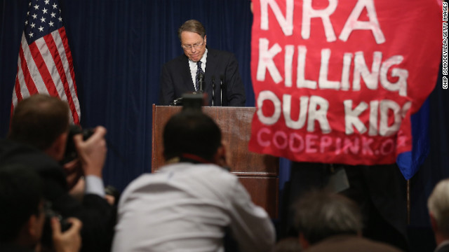 Put armed officers in every school, NRA official says