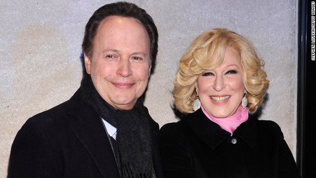 Billy Crystal and Bette Midler talk comedy, 'Parental Guidance'