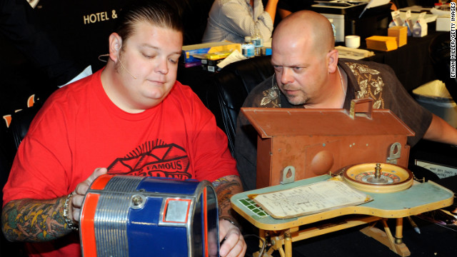 History's &quot;Pawn Stars,&quot; starring Corey Harrison, Rick Harrison and Richard Harrison, has been on the air for six seasons.