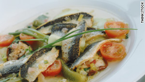 In Poland and Scandinavia, herring is a typical dish for good fortune in the new year.