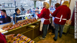 In the Netherlands, fried dough balls called oliebollen are part of welcoming the new year.