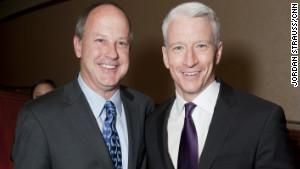 Anderson Cooper tweeted: \
