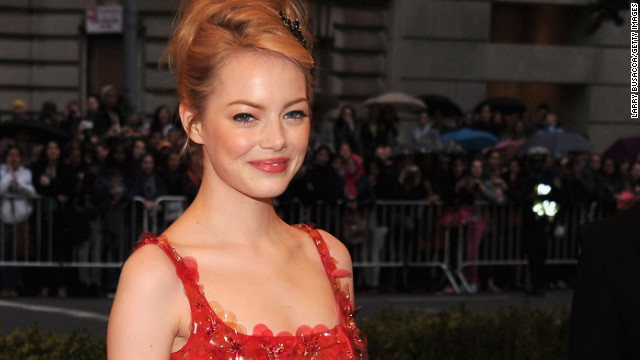 Emma Stone cries over the Spice Girls