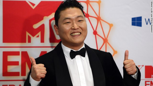 Psy's Gangnam Style was a big a hit in China