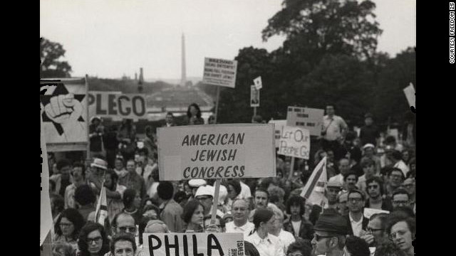 Decades-long fight for Jewish freedom remembered