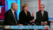 Journalists agree: We're going over fiscal cliff