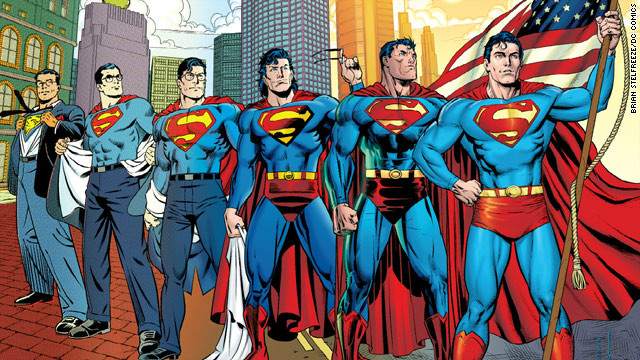 "After Superman took the side of Iranian dissidents in 2011's ""Action Comics"" #900, he decided to renounce his American citizenship because he did not want his actions to be seen as U.S. policy. The pre-""New 52"" story was criticized, especially considering his old slogan was ""Truth, justice and the American way."""