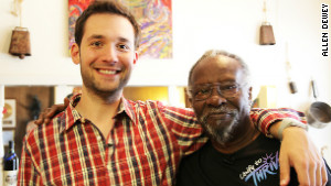 Alexis Ohanian, left, sought out Lester and offered to help bankroll a new album through Kickstarter.