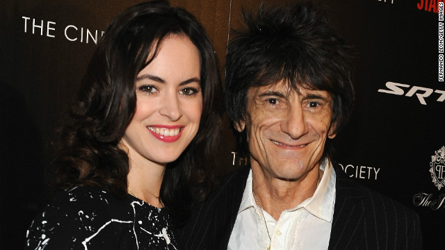 Rolling Stones' Ronnie Wood marries