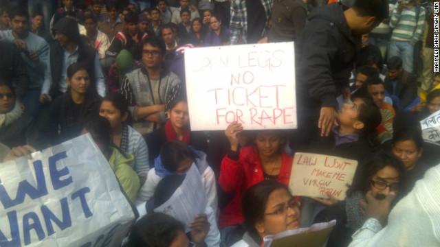 La policía bloquea el distrito de gobierno de Nueva Delhi por protestas