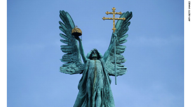 statue of the Archange...