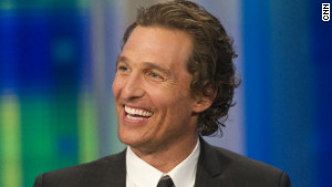 Matthew McConaughey founded the J.K. Livin Foundation