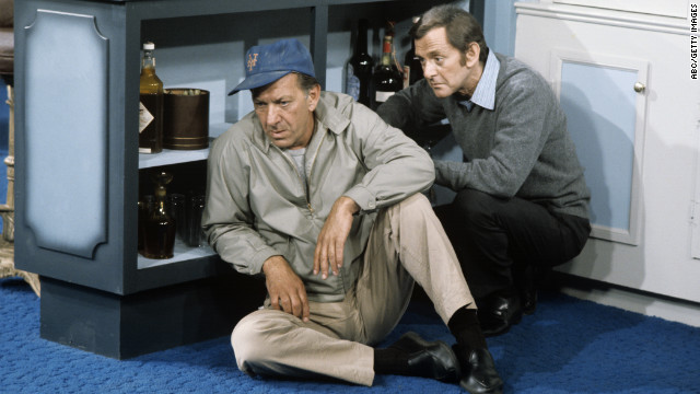 Jack Klugman, best known as the messy sportswriter Oscar Madison in TV's &quot;The Odd Couple,&quot; died Monday, December 24, his son Adam said. He was 90. Klugman and Tony Randall appear in &quot;The Odd Couple&quot; episode, &quot;Felix's Wife's Boyfriend&quot; on September 24, 1971.