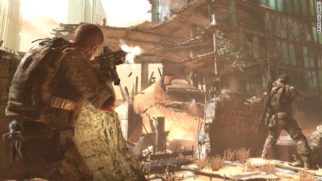 &quot;Spec Ops: The Line&quot; helps players delve into the psyche of a soldier without making it feel like a fantasy trip. 