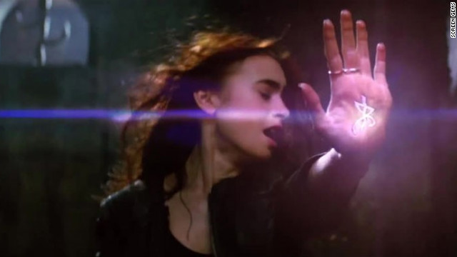 &quot;The Mortal Instruments: City of Bones,&quot; which is based on the first novel in Cassandra Clare's YA series, stars Lily Collins, Jamie Campbell Bower and Robert Sheehan. The trio's love triangle is just one facet of this supernatural tale about Shadow hunters and demons. The flick will bow on August 23.