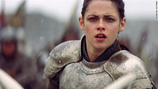 Kristen Stewart stars as a tough version of the Snow White character in 
