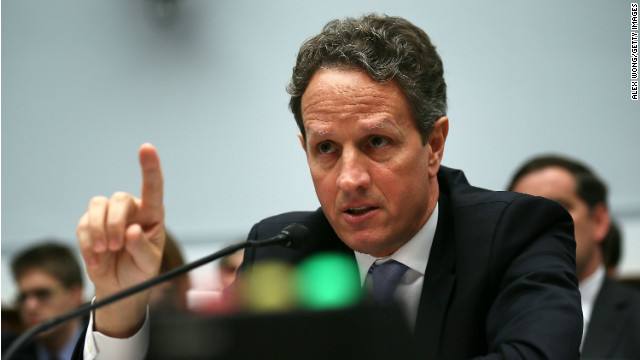 Former U.S. Treasury secretary, Timothy Geithner.