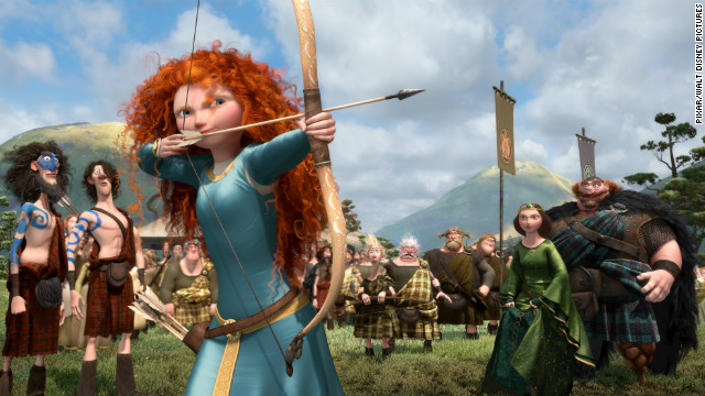 "Disney/Pixar's tale of a Scottish princess with fierce archery skills won over fellow nominees ""Frankenweenie,"" ""Wreck-It Ralph,"" ""Hotel Transylvania"" and ""Rise of the Guardians."""