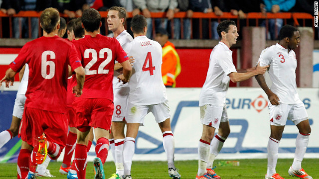 The Serbian Football Association was fined $105,000 after it was found guilty of 'improper conduct'.