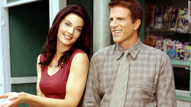"Danson and actress Terry Farrell starred as Dr. John Becker and Regina ""Reggie"" Kostas, respectively, in CBS' ""Becker."""