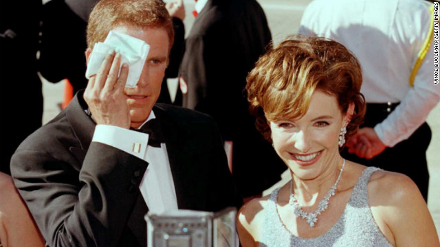 "Danson walks the red carpet at the Emmy Awards in 1996 with his wife Mary Steenburgen. The pair has co-starred in projects such as ""Ink,"" ""Gulliver's Travels"" and ""Curb Your Enthusiasm."""