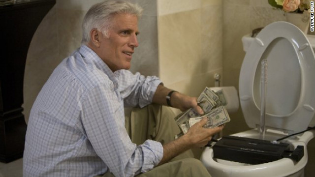 "Ted Danson starred alongside Diane Keaton, Katie Holmes and Queen Latifah in the 2008 comedy ""Mad Money."""