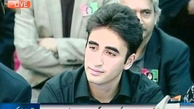 El hijo de Benazir Bhutto ingresa a la palestra política de Pakistán