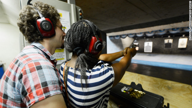 FBI gun background checks hit record highs
