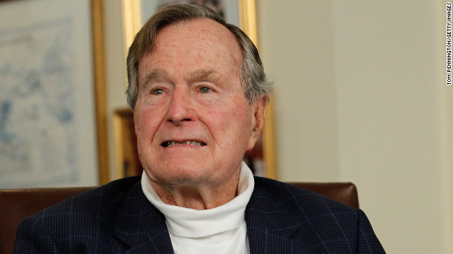 Former President George H.W. Bush might leave hospital this week