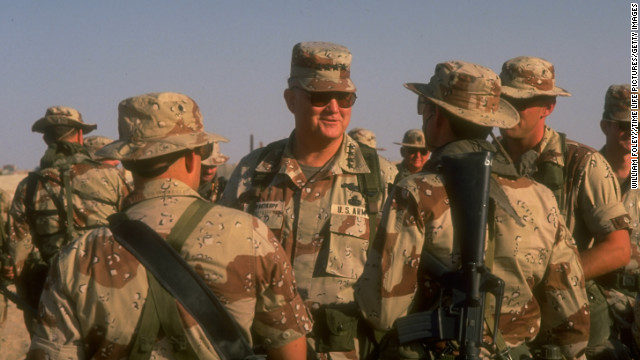 Gen. Norman Schwarzkopf through the years