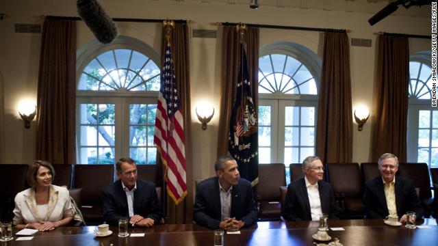 Acuerdo para evitar el abismo fiscal en manos de los líderes del Senado de EE.UU.