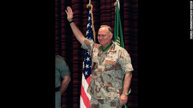 Retired Gen. Norman Schwarzkopf, who commanded coalition forces during the Gulf War, died Thursday, December 27, a U.S. official said. He was 78.