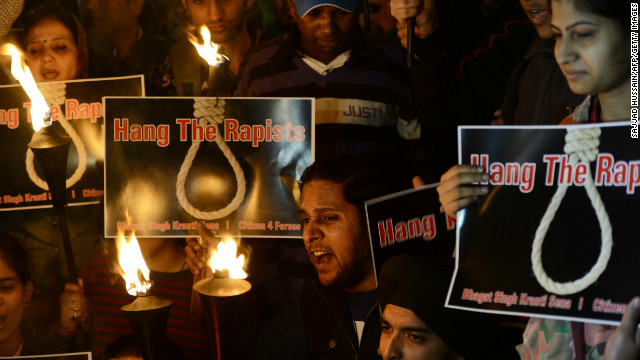 After the gang-rape and murder of a student in New Delhi, many Indians want the death penalty to be introduced for rapists.