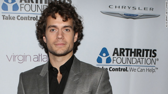 """The Tudors"" actor Henry Cavill is about to fill some very large shoes -- or should we say, capes? The latest star to play Clark Kent/Superman will don the character's iconic suit in ""Man of Steel,"" which is expected to hit theaters in June."