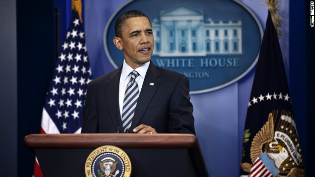 Obama to make Friday evening statement