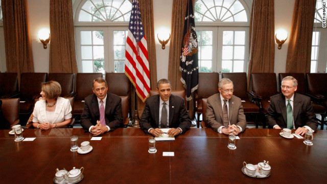 Congressional leaders speak after White House fiscal cliff meeting