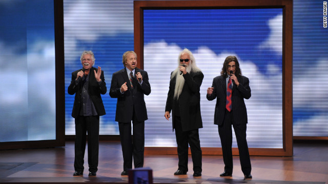 Oak Ridge Boys serenade former President Bush in hospital