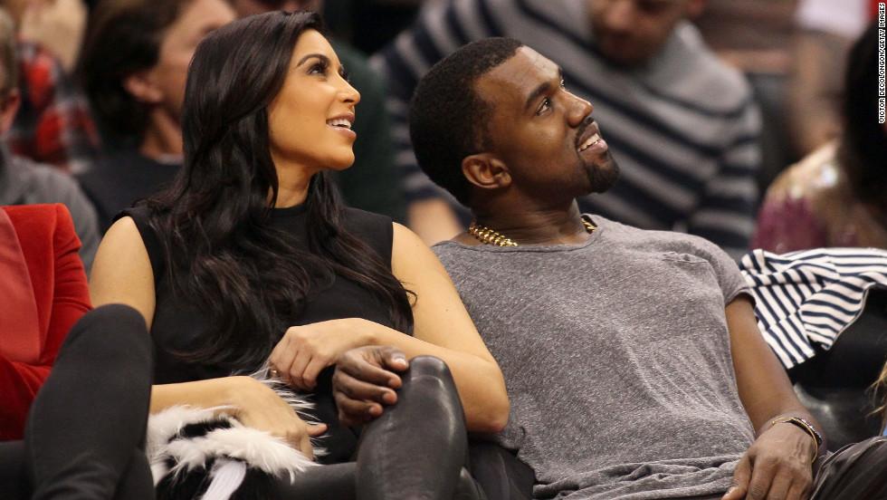 La relación de Kim Kardashian y Kanye West