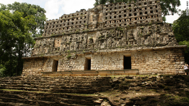 Yaxchiln ruins in Chiapas, Mexico. See the rest of Travel+Leisure's gallery &lt;a href='http://www.travelandleisure.com/articles/worlds-most-mysterious-buildings/12' target='_blank'&gt;here&lt;/a&gt;.