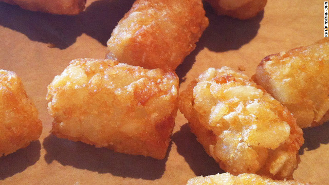Eat This List: Tater tots, invasive entrees and other food trends we'd like to see in 2013