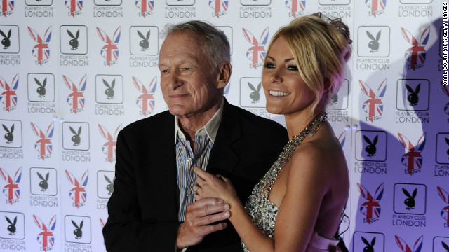 Hugh Hefner weds ex-fiancee Crystal Harris