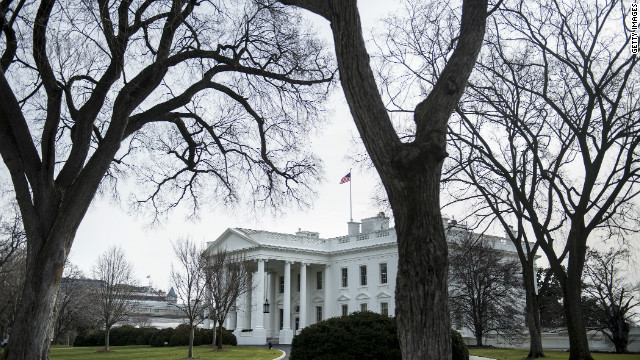 White House locked down after car is driven into secure area