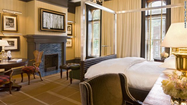 The 93 rooms at Aspen's Hotel Jerome underwent extensive upgrades during the four-month renovation. 