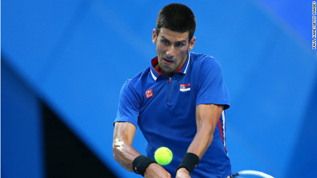 World number one Novak Djokovic slipped to a surprise defeat against Australia's Bernard Tomic at the Hopman Cup.